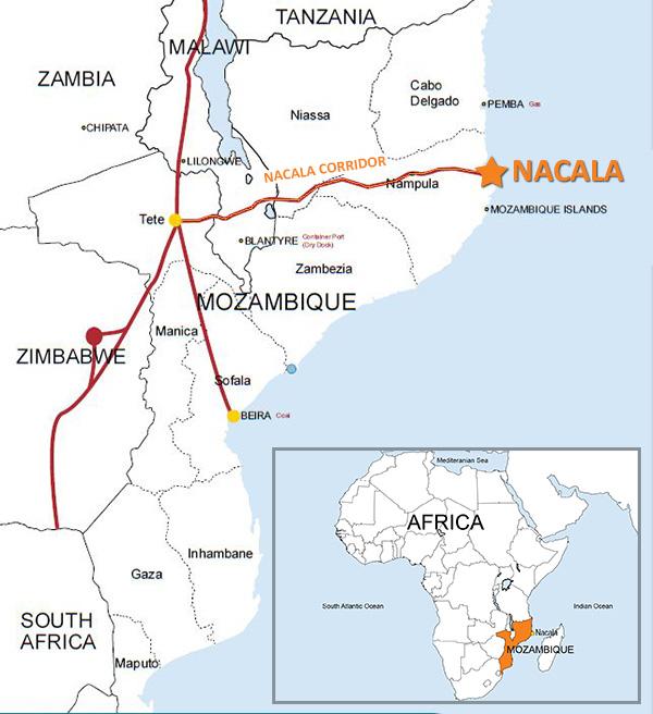 MozambiqueCountryMap Sedgeley Developments